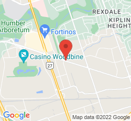 Google Map of 360+Rexdale+Boulevard%2CRexdale%2COntario+M9W+1R7