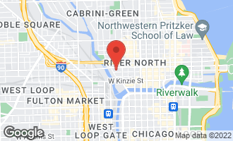 Map of 360 West Illinois Street #414 CHICAGO, IL 60654