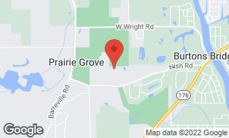 Map of 3600 Fawn Trail PRAIRIE GROVE, IL 60012