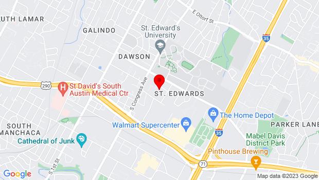 Google Map of 3601 South Congress Suite G400, Austin, TX 78704