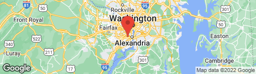 Map of 3601 Eisenhower Avenue #100 Alexandria, VA 22304