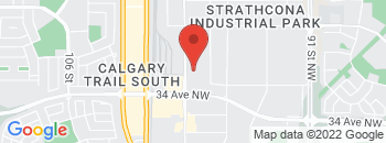 Google Map of 3603-99+Street+Northwest%2CEdmonton%2CAlberta+T6E+6K5