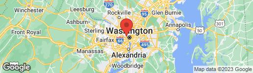 Map of 3609 S STREET NW WASHINGTON, DC 20007
