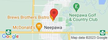 Google Map of 361+Mountain+Avenue%2CNeepawa%2CManitoba+R0J+1H0