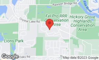Map of 361 Oakmont Drive CARY, IL 60013