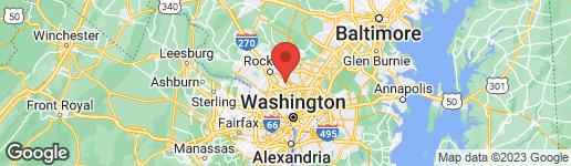 Map of 3612 SANDY COURT KENSINGTON, MD 20895