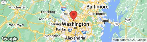 Map of 3612 SAUL ROAD KENSINGTON, MD 20895