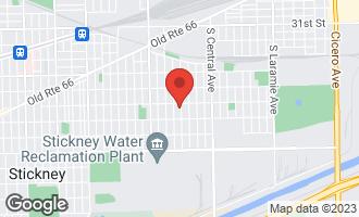 Map of 3620 South 58th Avenue CICERO, IL 60804