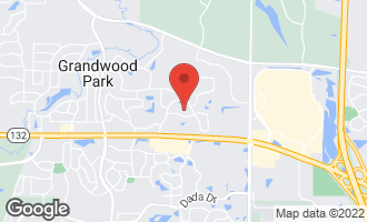 Map of 36205 North Old Creek Court GURNEE, IL 60031