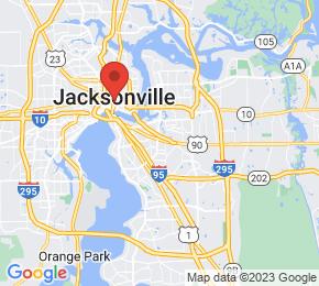 Job Map - 3625 UNIVERSITY BLVD S Jacksonville, Florida 32216 US