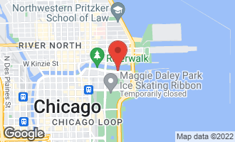 Map of 363 East Wacker Drive #3301 CHICAGO, IL 60601