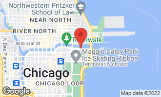 Map of 363 East Wacker Drive #3403 CHICAGO, IL 60601