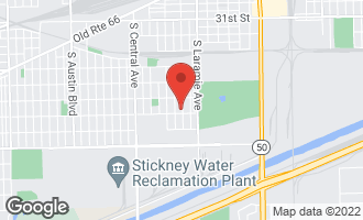 Map of 3638 South 53rd Avenue CICERO, IL 60804