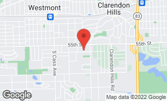 Map of 364 Reserve Circle CLARENDON HILLS, IL 60514