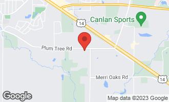 Map of 364 Ridge Road Barrington Hills, IL 60010