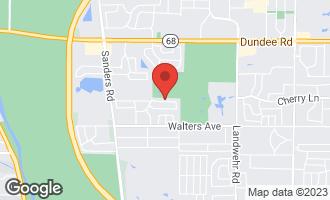 Map of 3642 Russett Lane NORTHBROOK, IL 60062