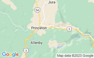 Map of Princeton Golf Club