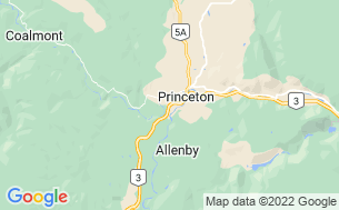 Map of Princeton Municipal RV Park & Campground
