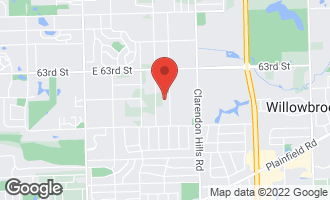 Map of 365 65th Street WILLOWBROOK, IL 60527