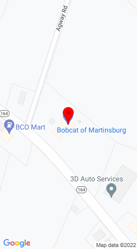 Google Map of Bobcat of Martinsburg 3650 Cove Mountain Road, Martinsburg, PA, 16662-1334