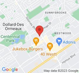 Google Map of 3650+Boulevard+des+Sources%2CDOLLARD-DES-ORMEAUX%2CQuebec+H9B+1Z9