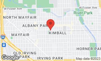 Map of 3653 West Leland Avenue 1W CHICAGO, IL 60625