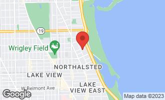 Map of 3660 North Lake Shore Drive #3408 CHICAGO, IL 60613