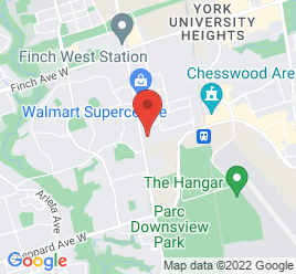 Google Map of 3675+Keele+Street%2CNorth+York%2COntario+M3J+1M6