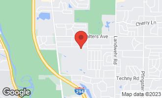 Map of 3675 Oak Avenue NORTHBROOK, IL 60062
