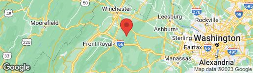 Map of 369 MOUNTAIN LAKE DRIVE FRONT ROYAL, VA 22630