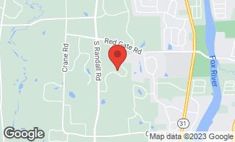 Map of 36W780 Oak Road ST. CHARLES, IL 60175
