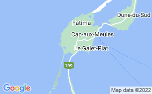 Map of Camping Motel Pluvier Des Îles