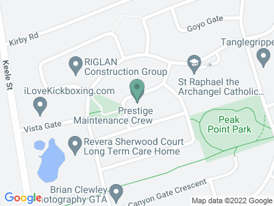Google Map of 37 Country Dr Ln, Maple, ON L6A 3S6