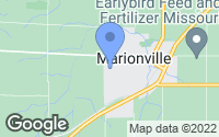 Map of Marionville, MO