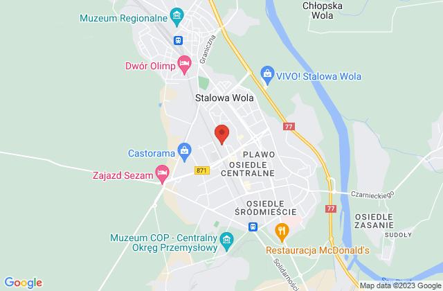 Wyświetl Tomasz Malczewski,Firma PROHANTRA Tomasz Malczewski na mapie
