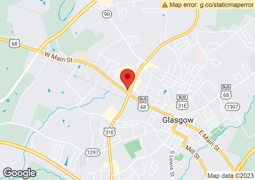 Google Map of 1001 W MAIN ST