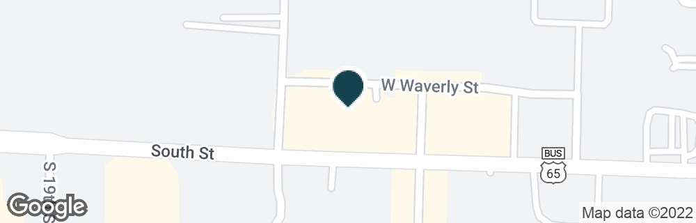 Google Map of1675 W SOUTH ST