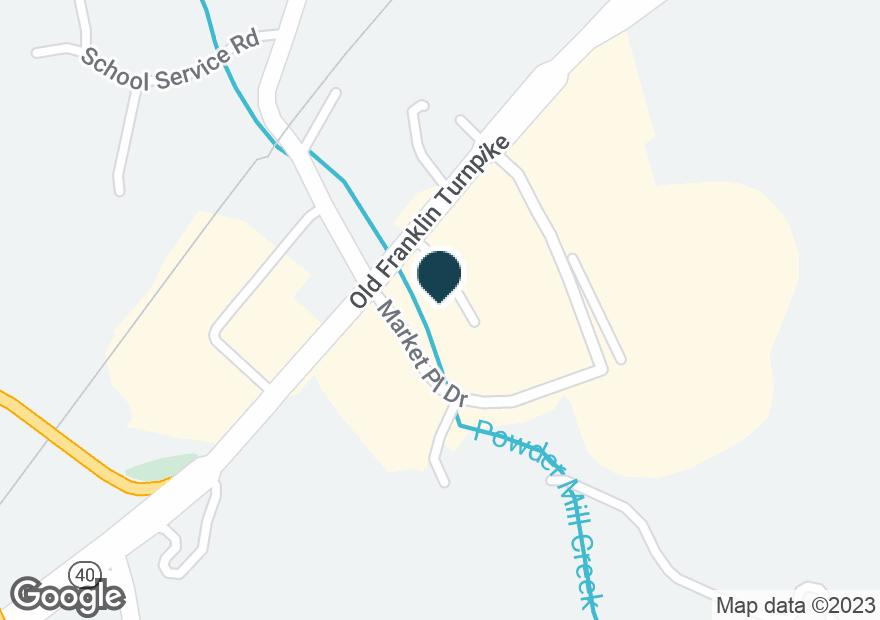 Google Map of290 OLD FRANKLIN TPKE