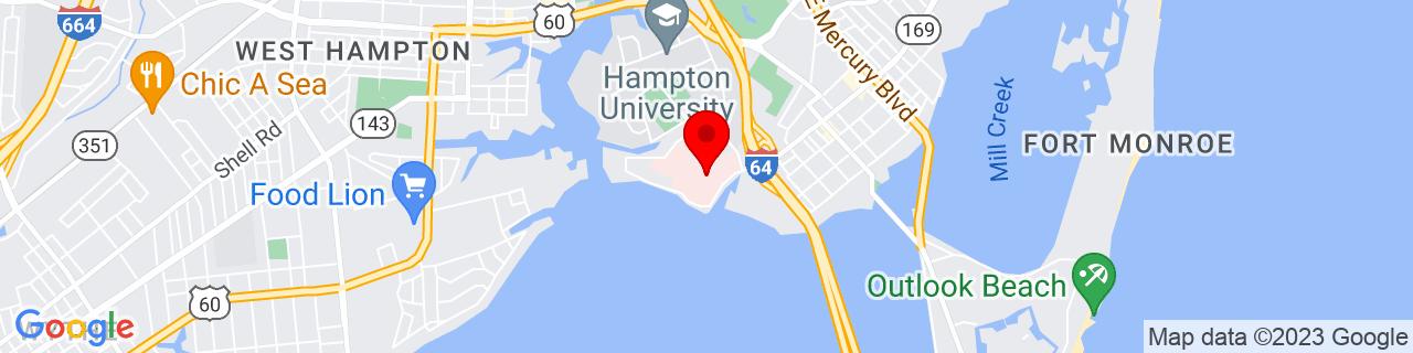 Google Map of 37.015164, -76.33126970000001