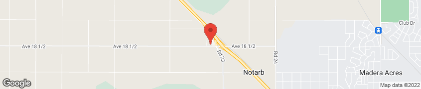 Map of 22717 Ave 18 1/2 in Madera