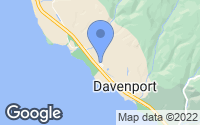 Map of Davenport, CA