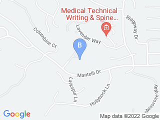 Map of Purr fection Pet Care Dog Boarding options in Gilroy | Boarding