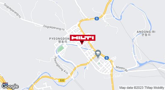 Get directions to 충북단양매포평동337.
