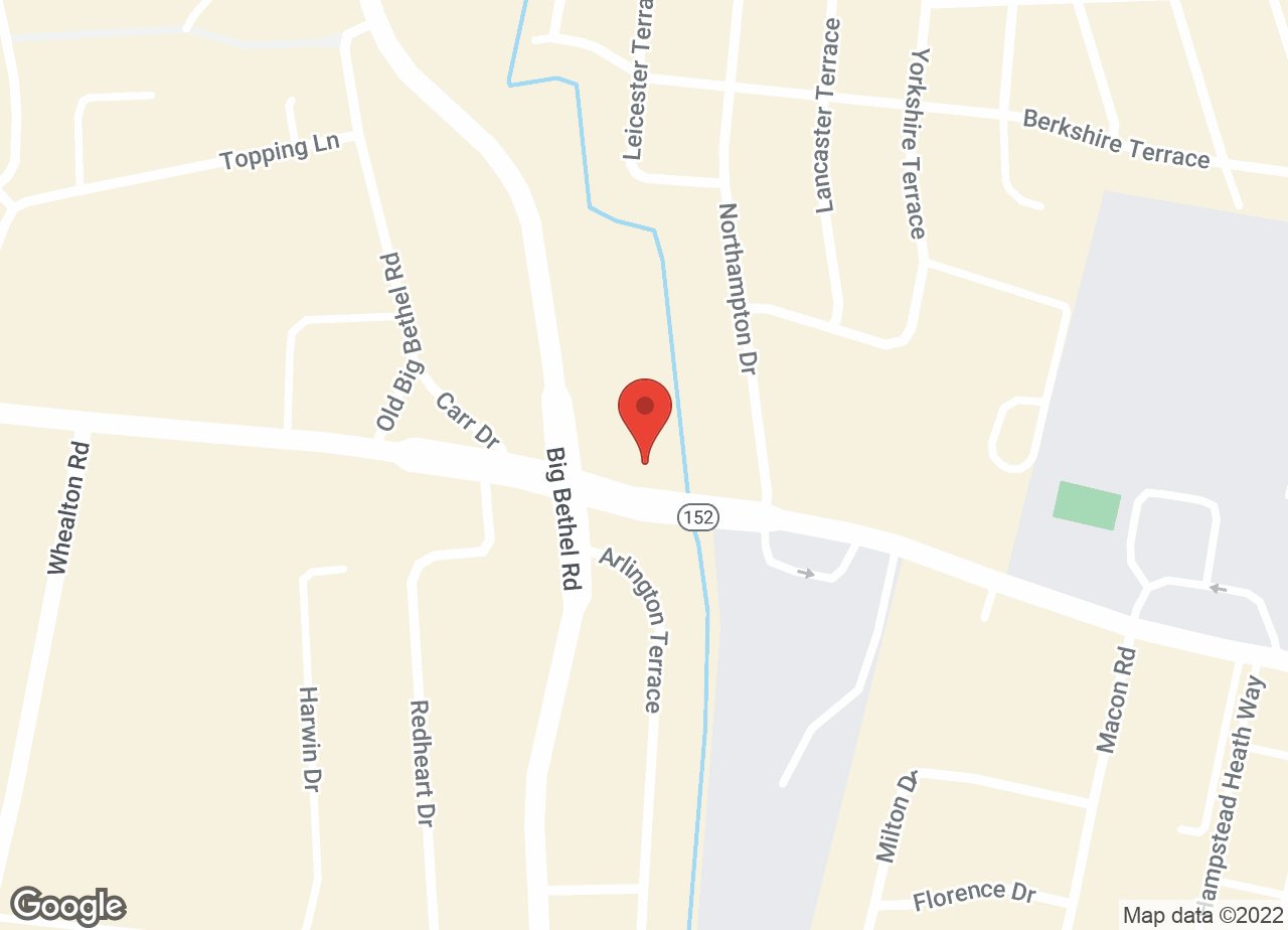 Google Map of VCA Todds Lane Animal Hospital
