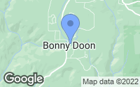 Map of Bonny Doon, CA