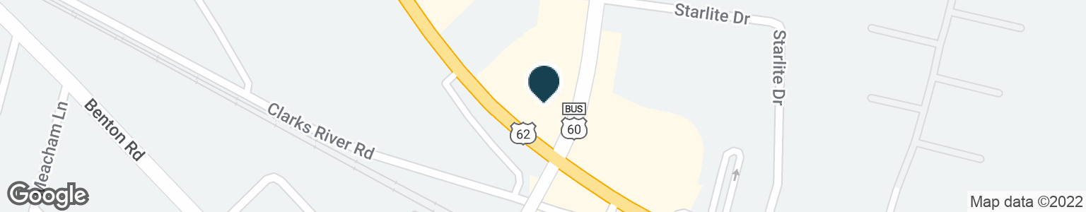 Google Map of3360 IRVIN COBB DR