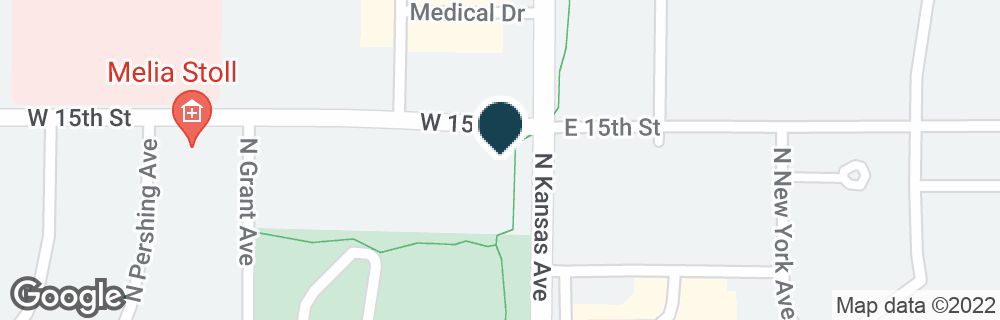 Google Map of10 W 15TH ST