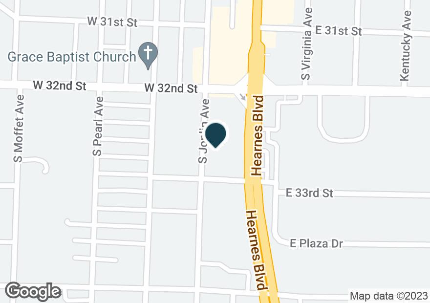 Google Map of3222 S MAIN