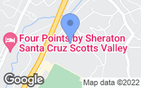 Map of Scotts Valley, CA