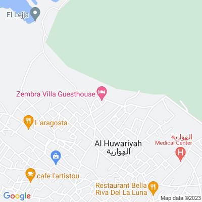 خريطة فندق فندق فيلا زمبرا